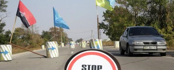 Поставки продуктов с Украины в Крым полностью прекращены