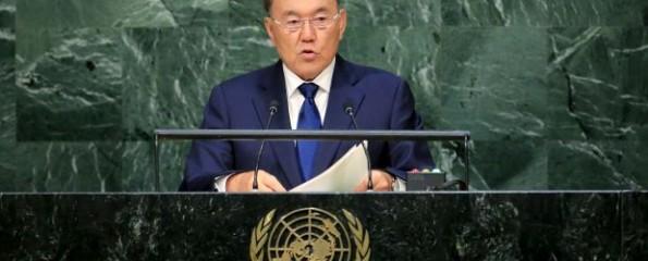 Нурсултан Назарбаев предложил создать мировую валюту