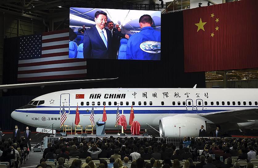 Boeing объявила о подписании контракта с Китаем на $38 млрд