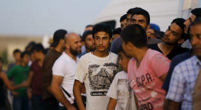Мигранты прорвали кордон на границе Хорватии и Словении