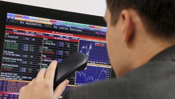 Российский рынок акций снизился на негативном внешнем фоне