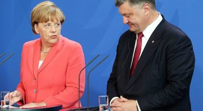 Германия принуждает Порошенко отдать России 3 миллиарда долга