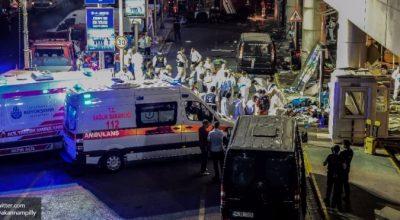 Трое террористов в Стамбуле: россиянин, узбек и киргиз?
