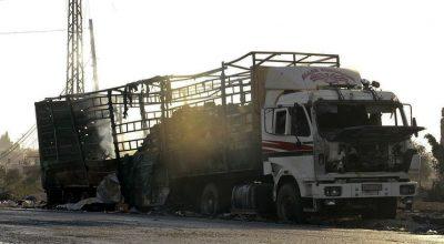 Сергей Лавров опроверг возможность атаки гуманитарного конвоя сирийскими ВВС