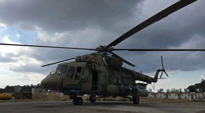 Боевики ИГ обстреляли российский Ми-8, доставлявший гуманитарную помощь в Хаму