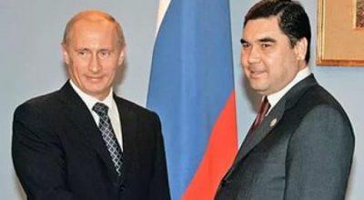 Президент Туркмении ищет спасения у Владимира Путина