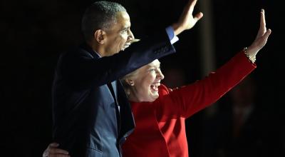 А победила все-таки Хиллари Клинтон