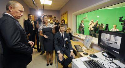 Владимир Путин: Россия обладает огромным потенциалом технологического развития.