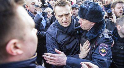 Навального оштрафовали за организацию несогласованного митинга