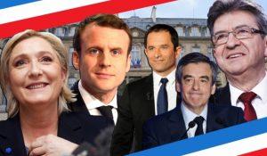 СМИ США об итогах первого тура президентских выборов во Франции
