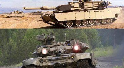 M1A2 Abrams vs Т-90-S
