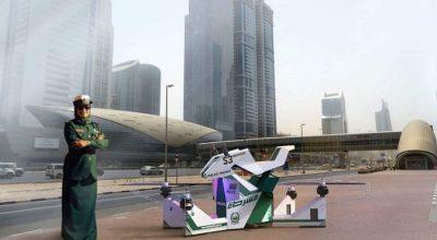 Полиция Дубая пересядет на российские ховербайки