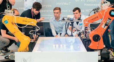 Российские программисты научили роботов работать в команде