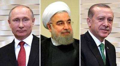Сирийский триумвират: о чем будут договариваться Путин, Эрдоган и Роухани