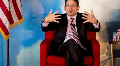 """Издание The Washington Post опубликовало заметку первого заместителя директора ЦРУ Майкла Морелла под названием """"Россия никогда не прекратит кибератаки на Соединённые Штаты"""". Фото: www.globallookpress.com"""
