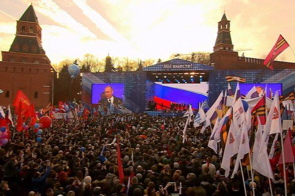 Первый акт «Крымской весны»...