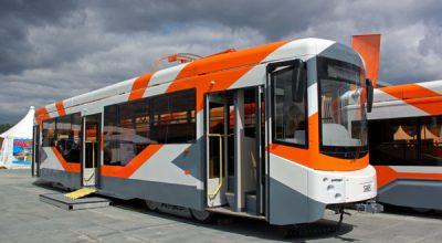 УВЗ пополнил транспортный парк Казани современными трамваями