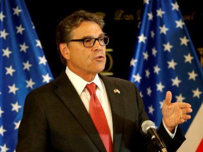 Министр энергетики США Рик Перри/ Фото: Ronen Zvulun/ Reuters
