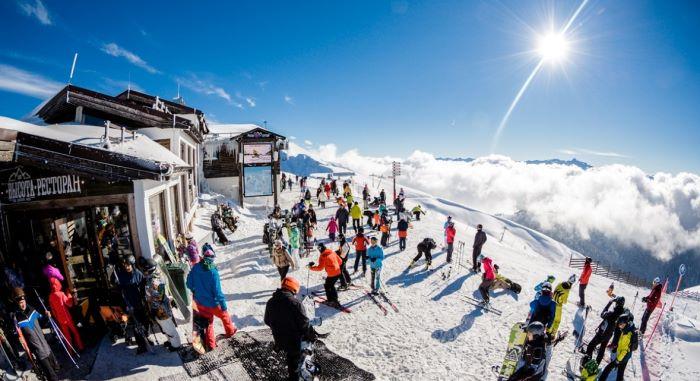 как в Сочи работают школы горных лыж
