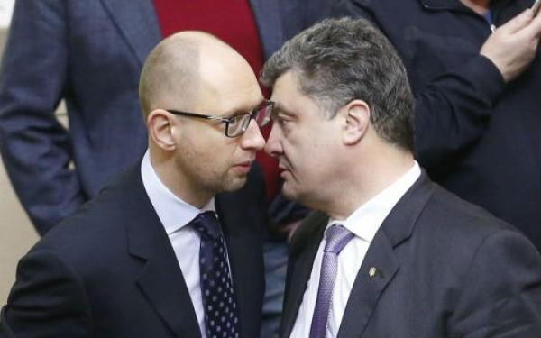 Reuters : Порошенко и Яценюк превзошли Януковича по уровню воровства