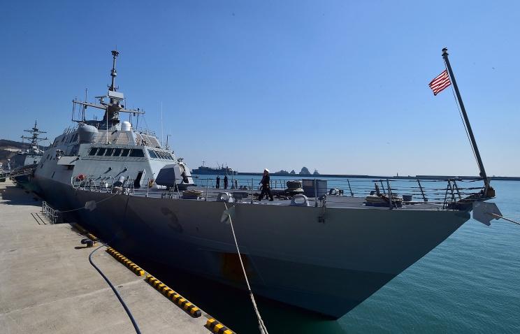 Второй за месяц фрегат прибрежной зоны ВМС США вышел из строя