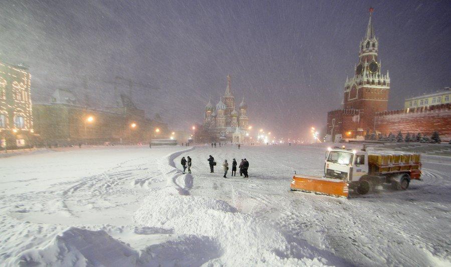 BBC: Москва легко справилась со снегом, от которого Лондон бы ждал коллапс