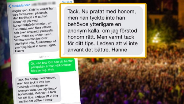 «Простите, что мы не нашли им лучшее применение», - пишет Ханне Кьоллер (Hanne Kjöller)