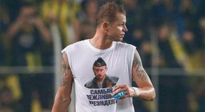 Игрока оштрафовали на €300 тыс. за майку с Путиным