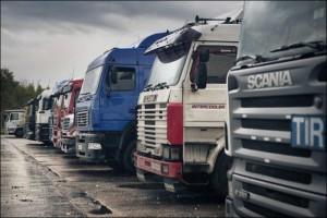 Россия и Украина вступили в «войну грузовиков»