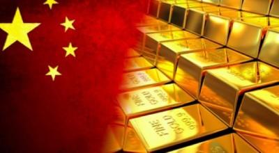 Китай может занять место Лондона на рынке золота