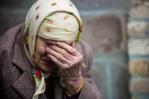 В Краматорске от голода умерла пенсионерка. Украинские власти отказывались платить пенсию «террористке»