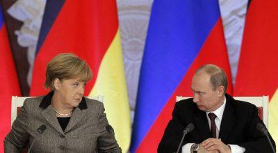 Германия применяет к России метод кнута и пряника