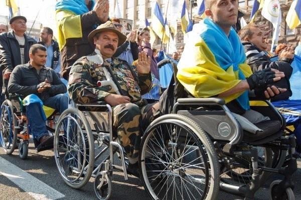 """Как Украина заботится о своих """"хероях"""""""