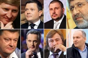 Украинские олигархи тайно присягают на верность Кремлю