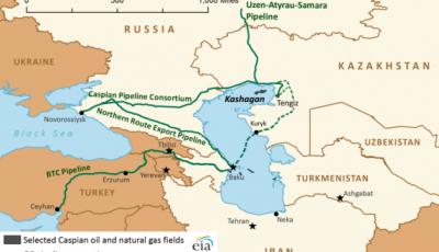 Баку остается пока не у дел: кашаганская нефть «пойдет» через Россию