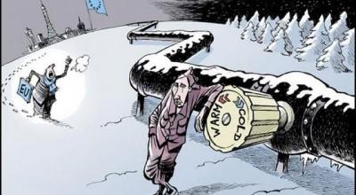 Европа лихорадочно запасается российским газом