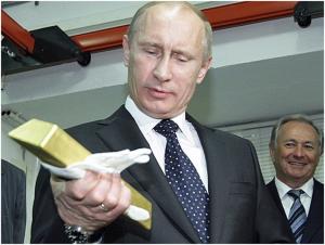 В октябре Россия купила самое большое количество золота с 1998 года