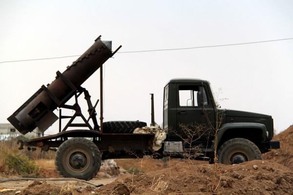 Боевые колесницы в Сирии