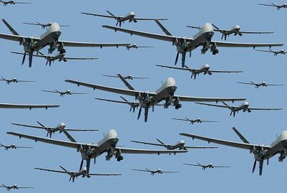 Американцы научат роботов групповой атаке