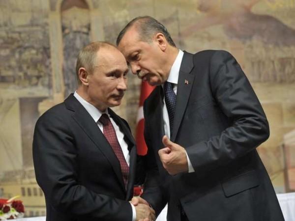 Эрдоган пока еще чувствует «плечо» Путина