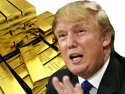 Лучший курс для Трампа возврат золотого обеспечения денег?