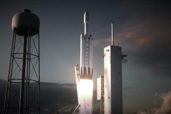 Американская и сверхтяжелая: В 2017 году SpaceX запустит мощнейшую в мире ракету-носитель