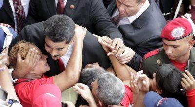 Президент Венесуэлы послал Владимиру Путину отравленный поцелуй