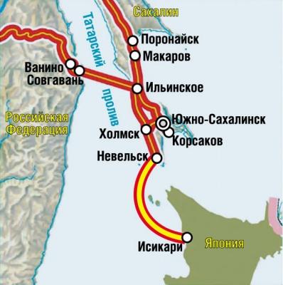 Газопровод в Японию: газ из России будет в 2,5 раза дешевле СПГ