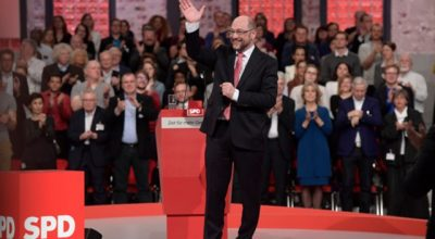 Главный оппонент Меркель на выборах осенью
