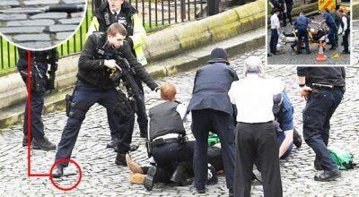 Террористический римейк напротив Парламента Британии