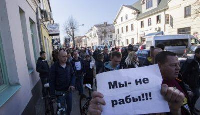 Кто стоит за белорусскими «тунеядцами»?