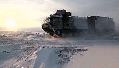 Арктический рейд особого назначения: как военная техника РФ покорила самый северный океан планеты