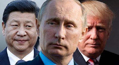 Путин, Трамп и Си Цзиньпин приступили к переделу мира