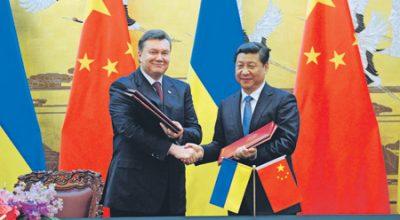 Китайский кредит Януковича проезжает мимо Киева